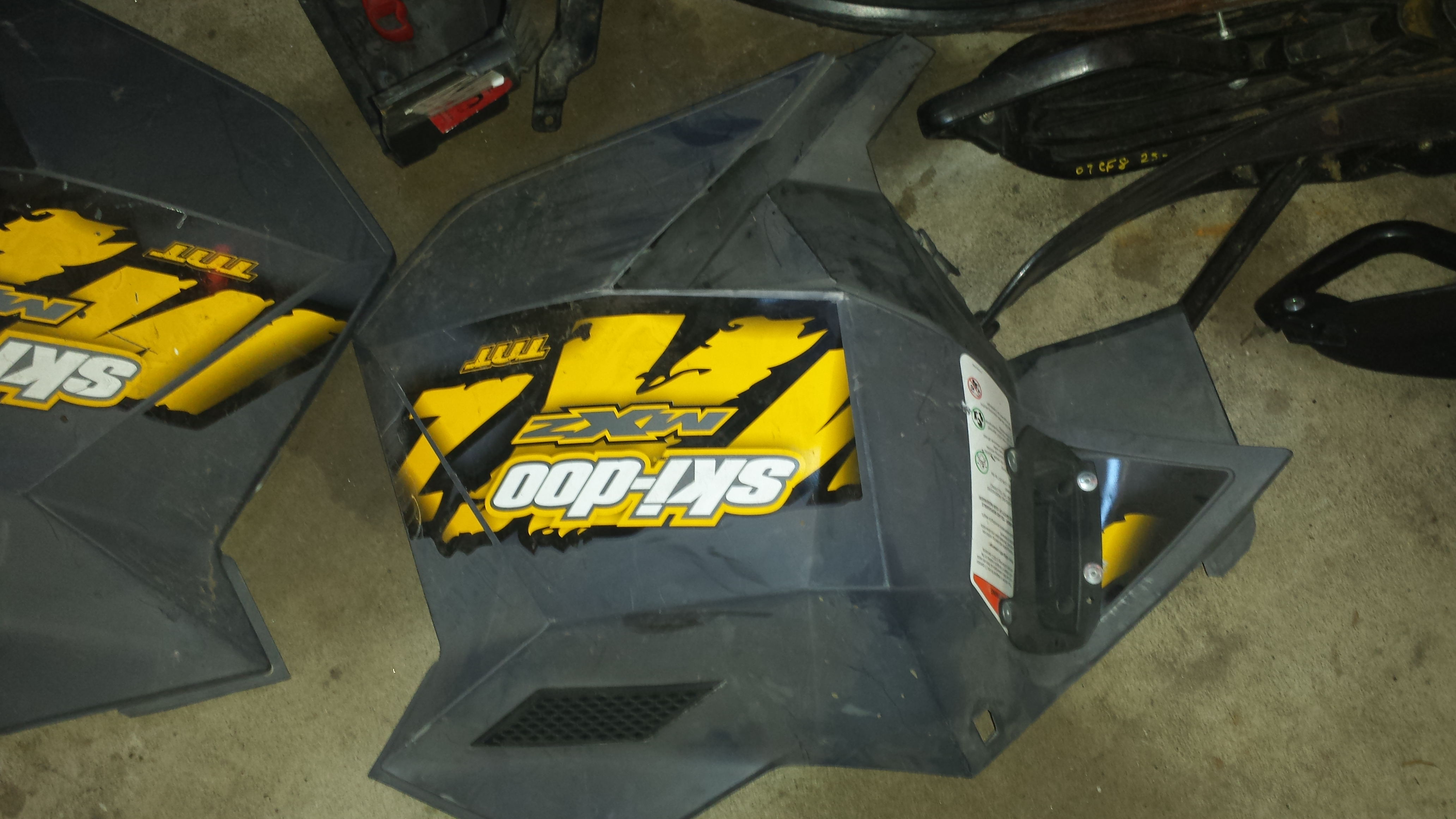 Parts available from 2008 Ski Doo XP Renegade X 800