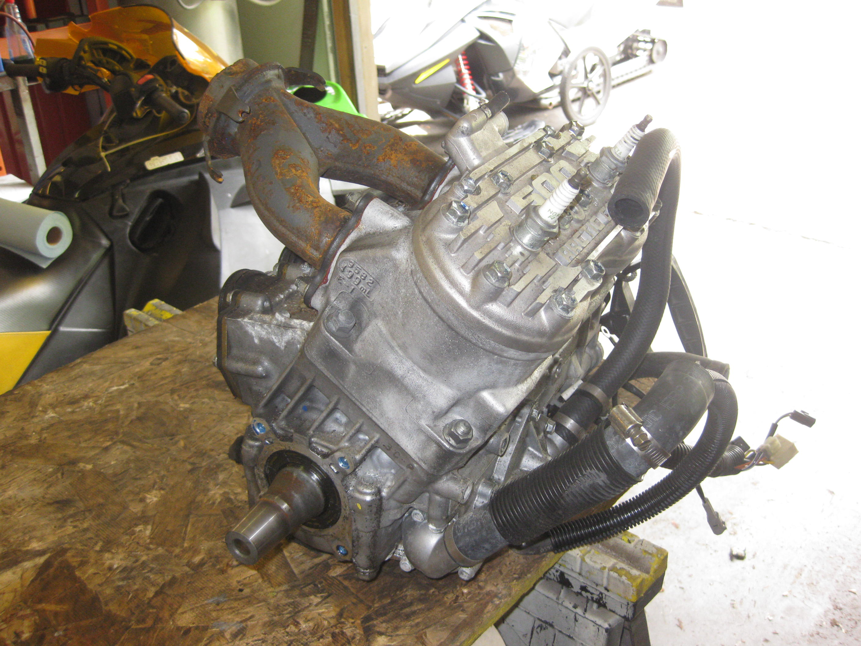 Parts available from 2009 Arctic Cat F5 Green