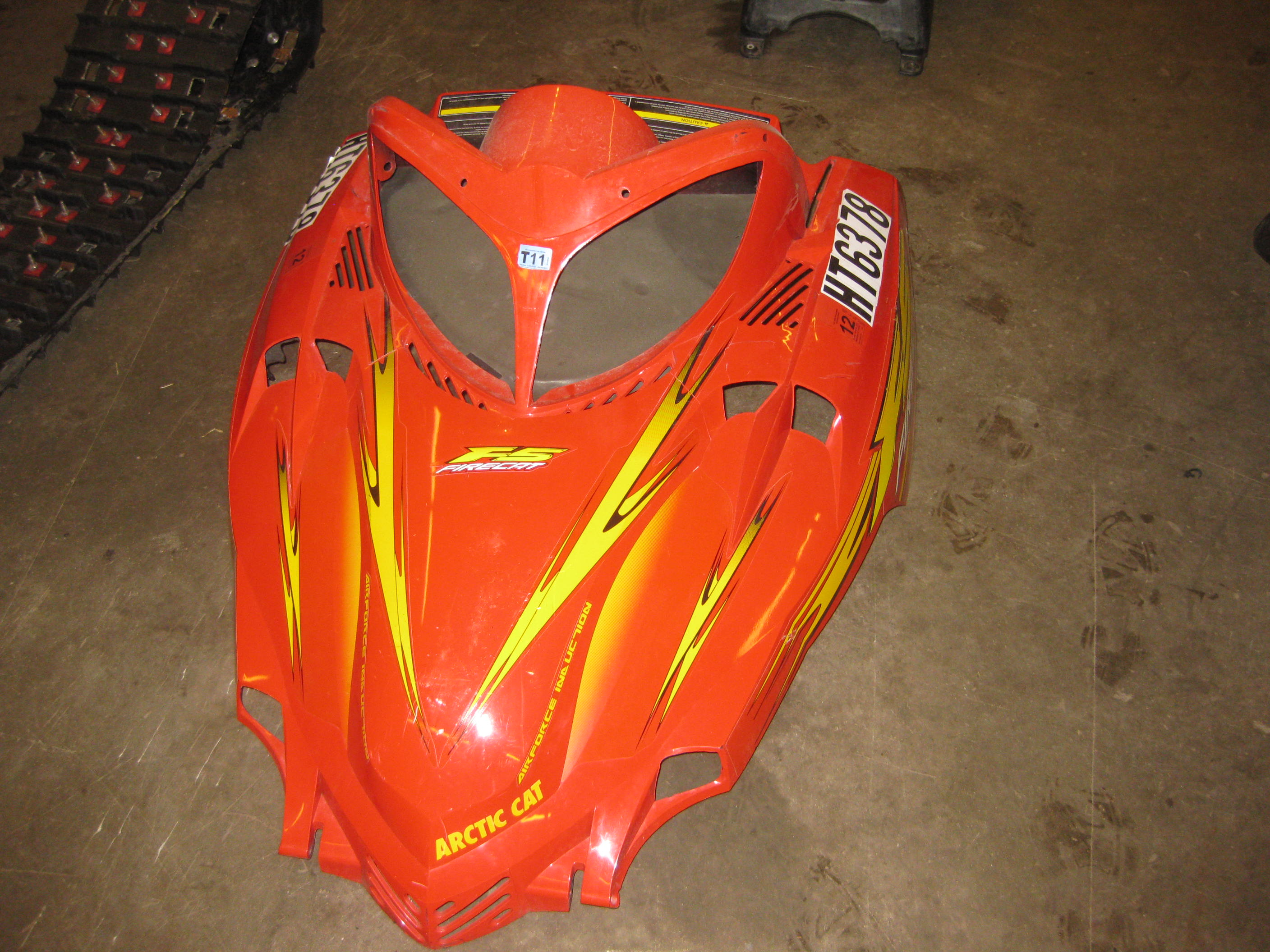 Parts available from 2003 Arctic Cat F5