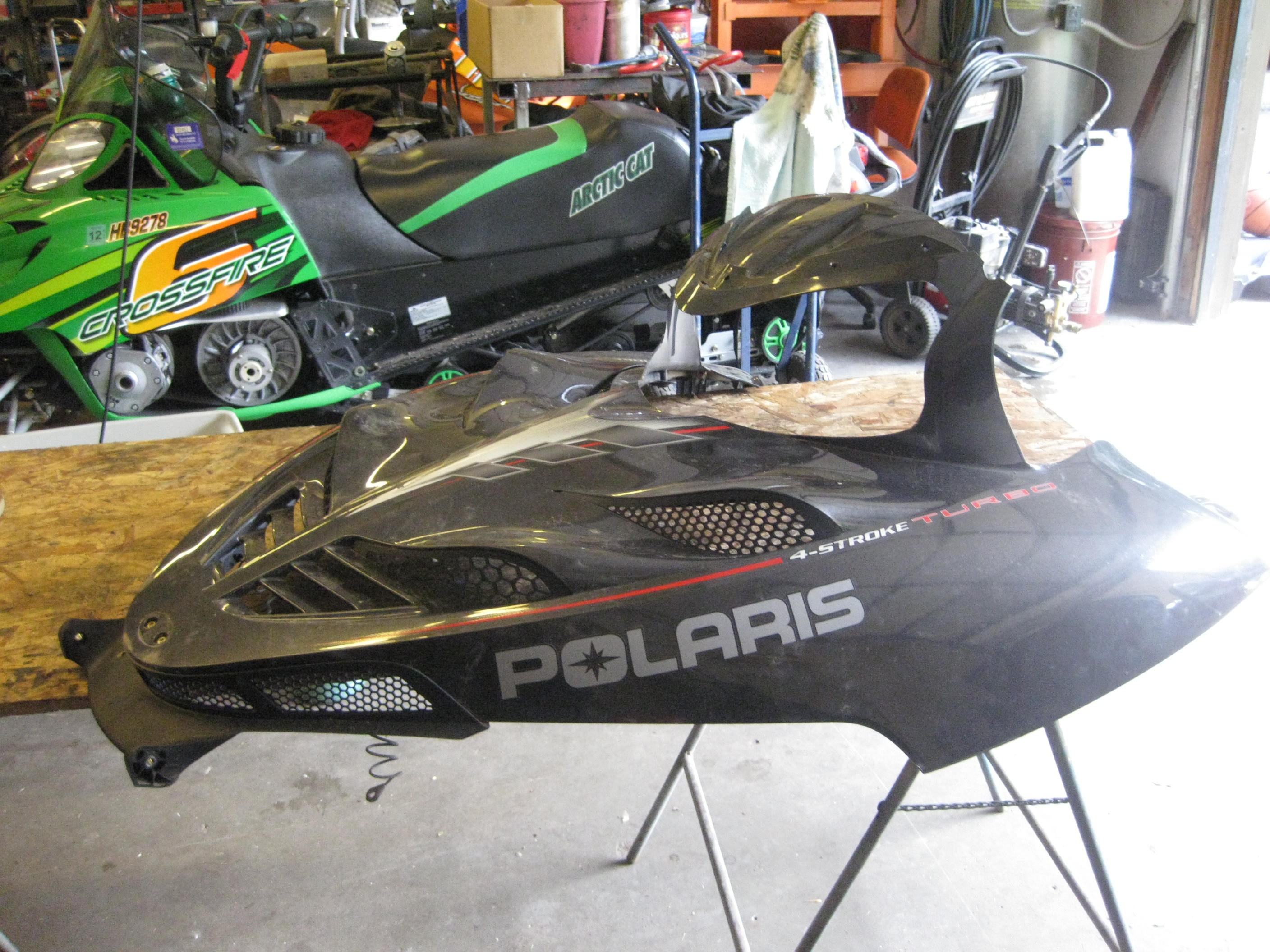 Parts available from 2006 Polaris FST Classic 750 Turbo
